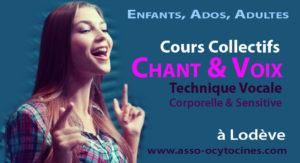 Cours collectifs de chant Adultes, Ados, Enfants