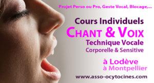 Cours individuels de Chant et Voix