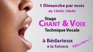 Stages Voix et Chant Bédarieux
