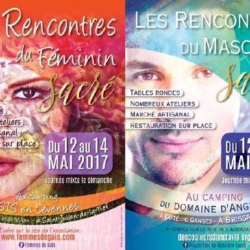 ►FESTIVAL : LES RENCONTRES DU FÉMININ SACRE 12,13,14,15 mai