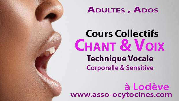 Atelier VOIX, CHANT adulte