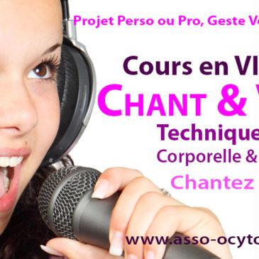 Cours de Chant et de Technique Vocale en Visio